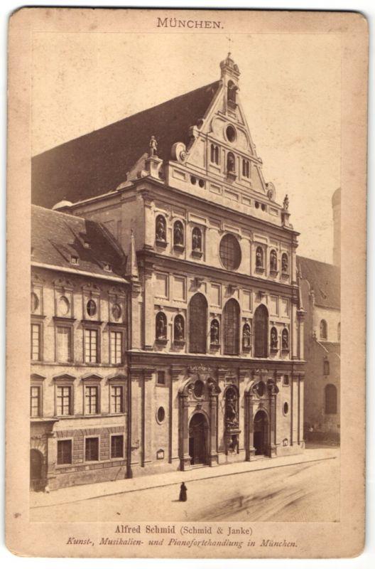 Fotografie Alfred Schmid, München, Ansicht München, Michaels-Hofkirche