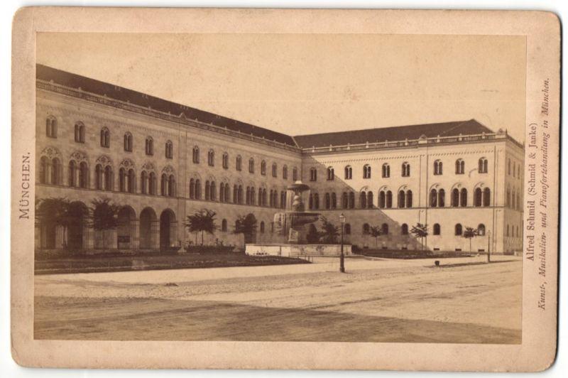 Fotografie Alfred Schmid, Münchne, Ansicht München, Universität