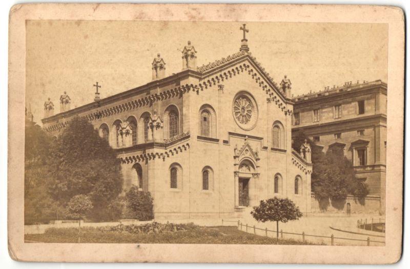 Fotografie Friedr. Bruckmann, München, Ansicht München, Allerheiligen-Hofkapelle