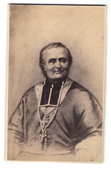 Fotografie H. Tournier, Paris, Portrait Felix Dupanloup Bischof von Orleans
