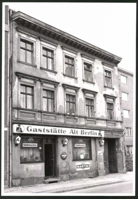 Fotografie Fotograf unbekannt, Ansicht Berlin-Charlottenburg, Krumme Strasse, Gaststätte Alt-Berlin, Kneipe