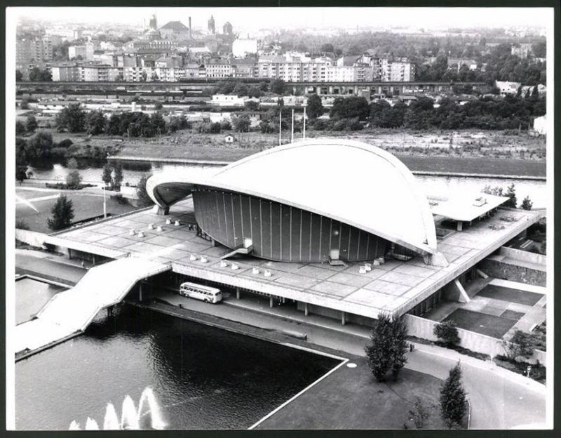 Fotografie Fotograf unbekannt, Ansicht Berlin, Gesamtansicht der Kongresshalle