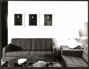 Fotografie Knoll International Berlin, Gemälde von Gia Hupperschwiller