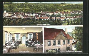 AK Eutingen, Gasthaus zur alten Brauerei, Ortsansicht