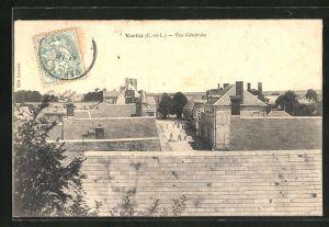 AK Varize, Blick über die Dächer der Ortschaft