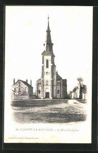 AK Loigny-la-Bataille, La Nouvelle Eglise
