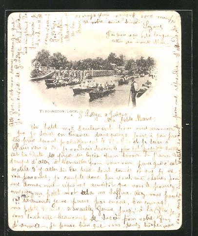 AK London, Teddington Lock, Ruderboote