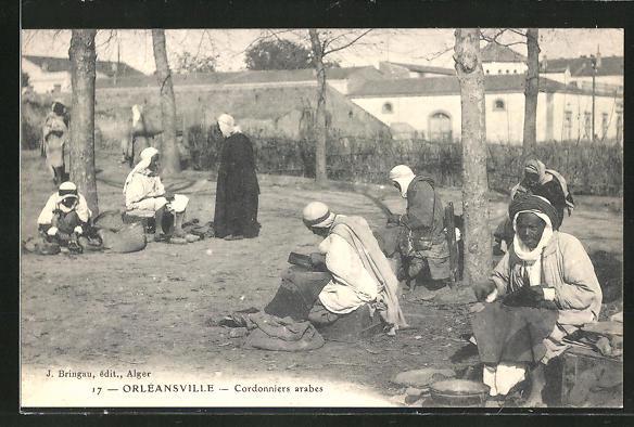 AK Orléansville, Cordonniers arabes