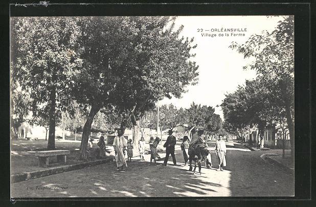 AK Orléansville, Village de la Ferme