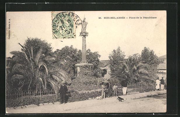 AK Sidi-Bel-Abbès, Place de la République