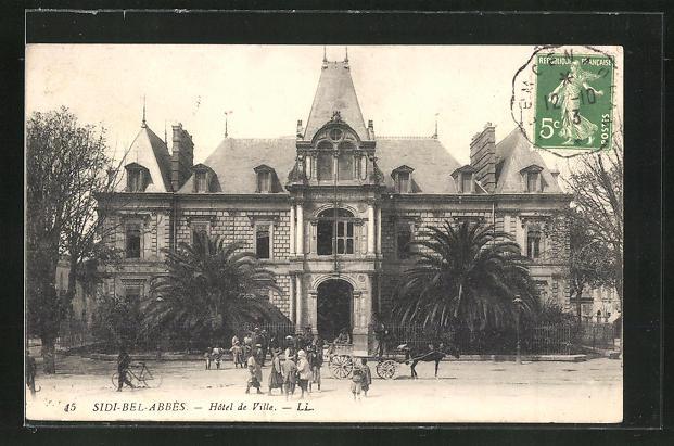 AK Sidi-Bel-Abbès, Hotel de Ville
