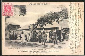 AK Saint-Marie-de-Bathurst, Albert Market, le Marche aux Provisions