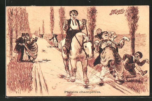 AK Reklame für Maggi, Plaisirs champetres