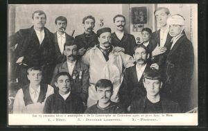 AK Courrieres, Les 13 premiers heros escapes de la Catastrophe de Courrieres apres 20 jours dans la Mine, Katastrophe