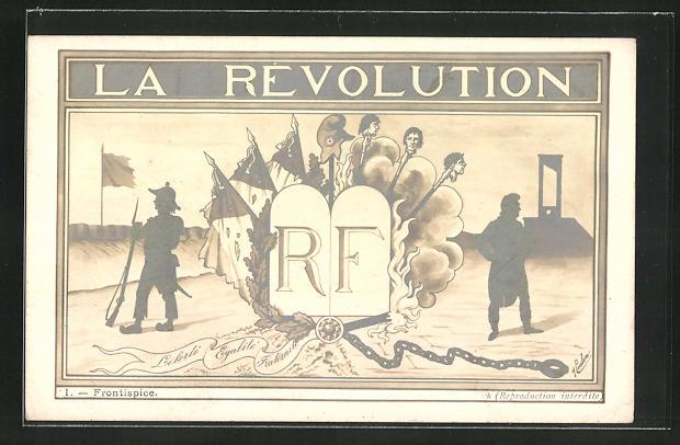 AK La Revolution, Frontispice