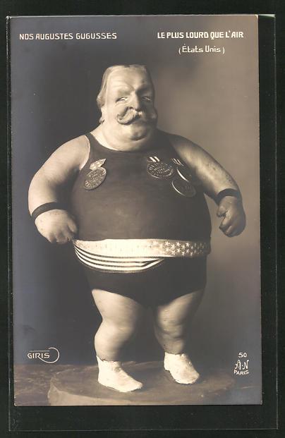 AK Karikierende Plastik des Präsidenten der USA Theodore Roosevelt