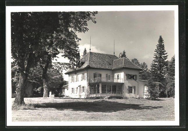 AK Chaumont, Zürcher Ferienkolonien, Mont-Riant 67