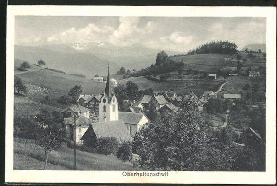 AK Oberhelfenschwil, Ortsansicht