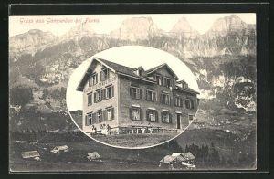 AK Flums, Hotel-Kurhaus Gamperdon