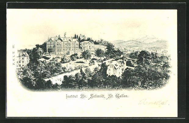 AK St. Gallen, Institut von Dr. Schmidt