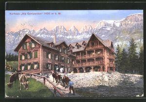 AK Flums, Kurhaus Alp Gamperdon
