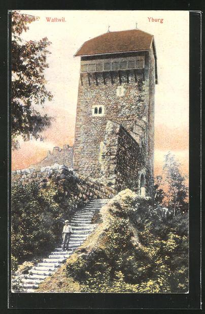 AK Wattwil, Turm der Yburg