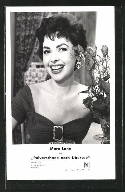 AK Schauspielerin Mara Lane in dem Film
