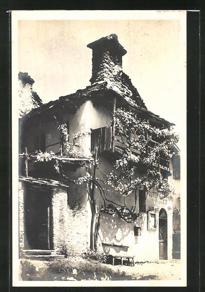 AK Orselina, vecchia Osteria