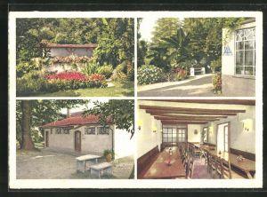 AK Lugano-Crocifisso, Jugendferienheim, verschiedene Ansichten