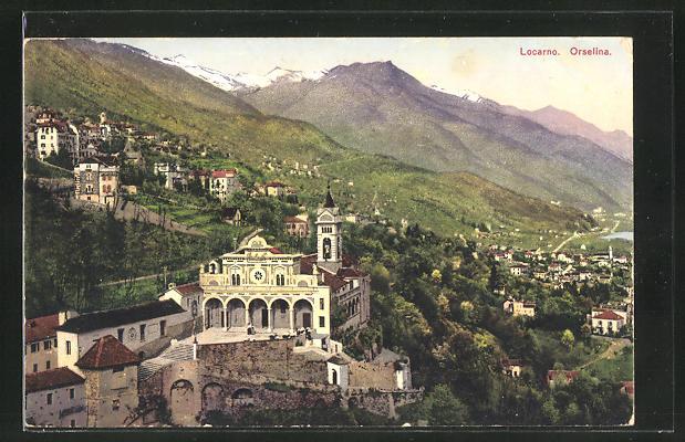 AK Lugano, Orselina, Panorama