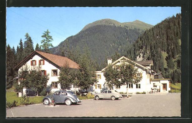 AK Davos, Autos am Landhaus Laret