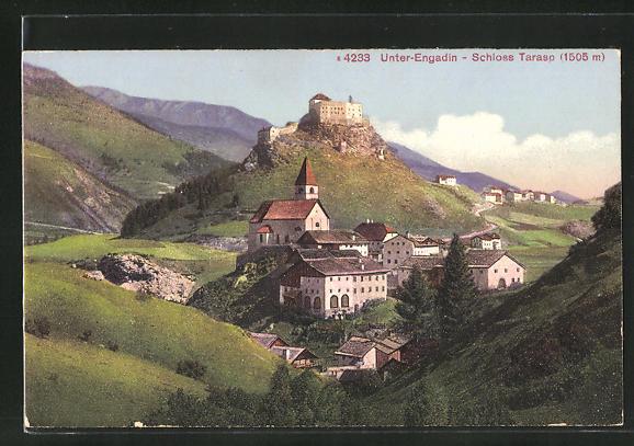 AK Tarasp, das Schloss im Unter-Engadin
