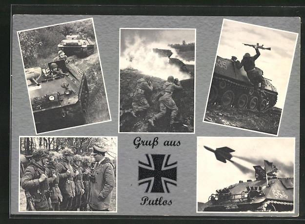AK Putlos, Bundeswehr, Panzergrenadiere im Manöver