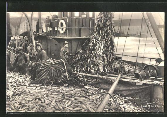 AK Sildefiske, Fischerboot