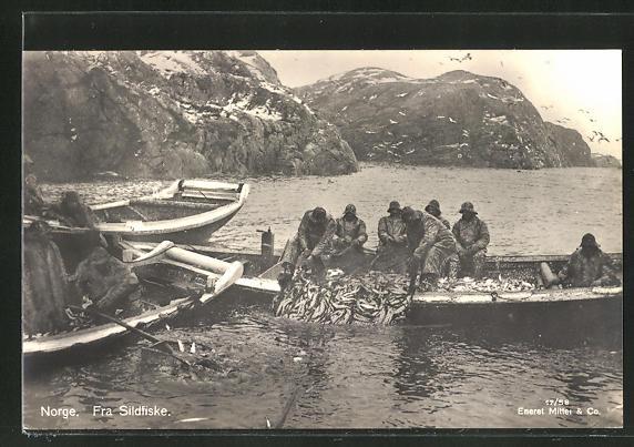 AK Norge, Fra Sildfiske, Fischerboot