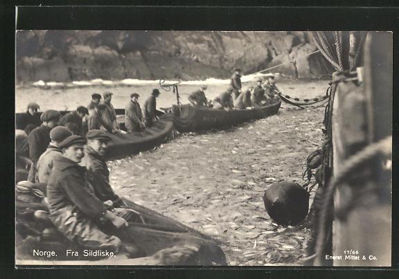 AK Norge, Fra Sildfiske, Fischerboote