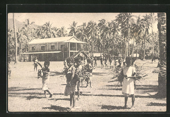 AK Nouvelle Caledonia, L'Ecole d'une mission, dans l'interieur