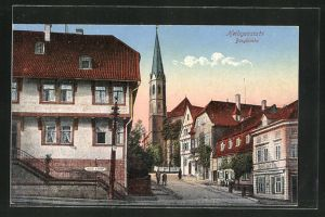 AK Heiligenstadt, Bergkirche u. Hotel zur Post