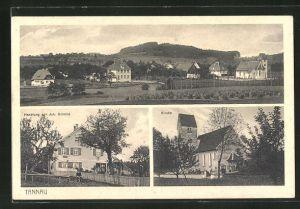 AK Tannau / Wttbg., Handlung von J. Schmid, Kirche