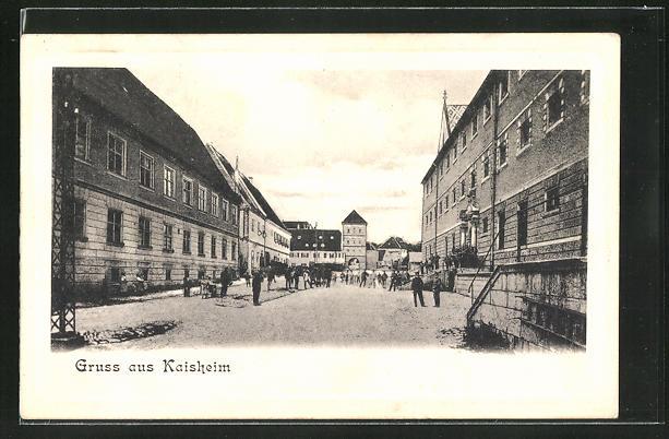AK Kaisheim, Blick auf das Gefängnis