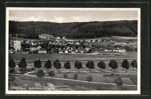 AK Treuchtlingen, Neue Kirche und Siedlung