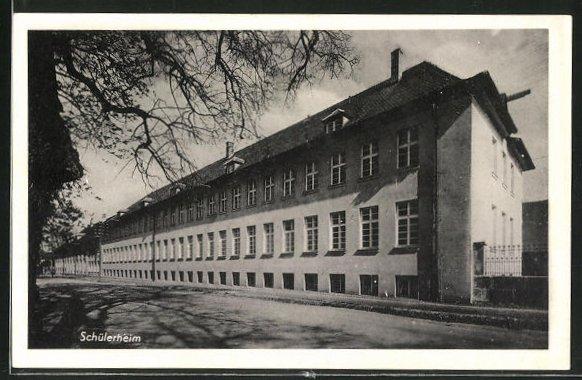 AK Triesdorf, Ackerbauschule - Schülerheim