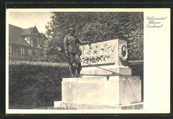 AK Salzwedel, Ulanen-Denkmal