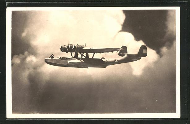 AK Hochsee-Grossflugboot Dornier Do 24 als Fernaufklärer
