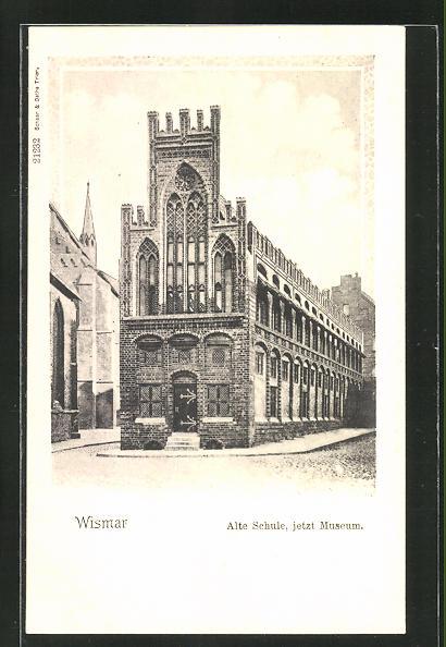 AK Wismar, alte Schule