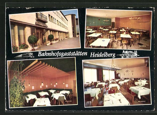 AK Heidelberg, Hauptbahnhof-Gaststätte