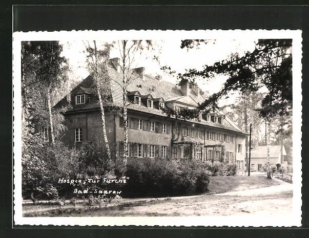 AK Bad Saarow, Hotel Hospiz zur Furche