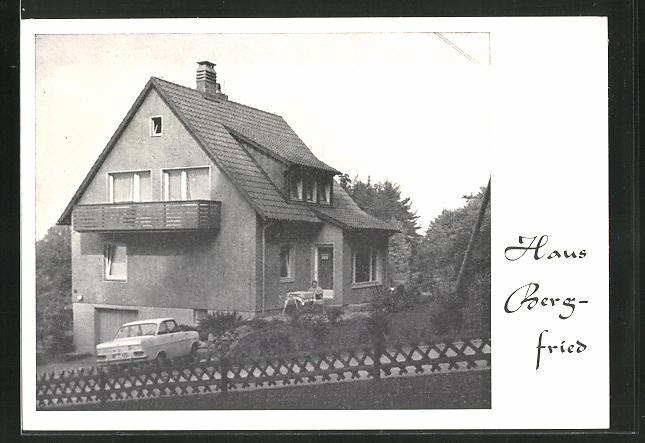 AK Bad Harzburg, Hotel Haus Bergfried