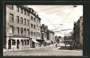 AK Solingen, Blick in die Schlagbaumstrasse