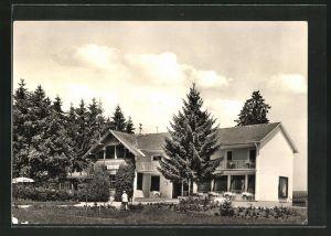 AK Bad Wörishofen, Cafe-Pension Zillertal
